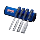 XMS19CHISEL4 Faithfull Chisel Set with Storage Roll, 4 Piece