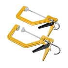 XMS19CLAMP2 Roughneck TurboClamp™ (Twin Pack)