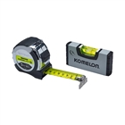 XMS19TAPELEV PowerBlade™ II Pocket Tape 5m/16ft (Width 27mm) with Mini Level