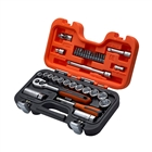 XMS1938SS Bahco S330 3/8in Socket Set with 1/4in Bits, 34 Piece
