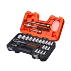 XMS1912SS Bahco S240 1/2in Socket Set, 24 Piece