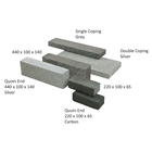 Rio Walling Block 440mm x 100 mm x 140mm Silver