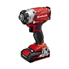 Einhell Power X Change Impact Driver with 18V 1.5Ah Li-Ion Battery