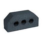 Special Shaped Bricks Smooth Blue Double Cant AN.6.2