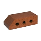 Special Shaped Bricks Smooth Red Plinth Header PL.2.1