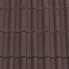 Redland Double Roman Roof Tile - Brown Granular