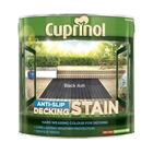 Cuprinol CX Anti Slip Decking Stain Black Ash 2.5 Litre