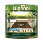 Cuprinol CX Anti Slip Decking Stain Hampshire Oak 2.5 Litre
