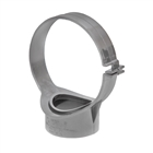 Polypipe Soil & Vent 82mm Strap Boss Back Fix Nut & Bolt Grey SG30