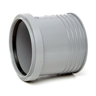 Polypipe Soil & Vent 110mm Drain Connector Grey SD43