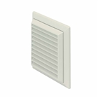 Domus Louvre Grille with Flyscreen White
