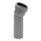 Polypipe Push-Fit Waste 40mm 157½° Soil Boss Bend Grey WP20