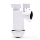 Polypipe Nuflo Anti-Syphon Bottle Trap 40mm WP46PV