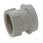 Polypipe Soil & Vent 110mm Straight Adapter 40mm Grey SN64