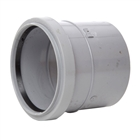Polypipe Soil & Vent 110mm Single Socket Grey SH43