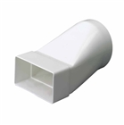 Domus Round To Rectangular Adapter 100mm