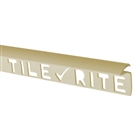 Tile Rite Profile Plus Deep Tile Edging 9.5mm 8' Soft Peach
