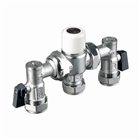 15mm Thermostatic Mixing Valve TMV2/3 with ISO Unions