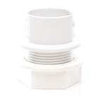 Polypipe Solvent Weld Waste 32mm Tank Connector White WS35