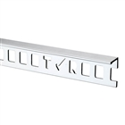 Tile Rite SLT227 10mm Silver 'L' Shaped Trim 2.44m