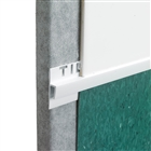 Tile Rite VTC056 Vinyl To Tile Capping White 2.44m