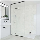 Multipanel Shower Panel 2400mm x 1200mm Grey Marble