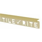 Tile Rite Profile Plus Deep Tile Edging 9.5mm 8' Ivory
