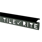 Tile Rite Black Tile Edging Deep 9.5mm 2.44m