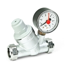 Inta Pressure Reducing Valve with Gauge and Filter 15mm PRV22331510