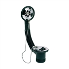 """1½"""" Tidy Bath Waste and Overflow Chrome Plated with Plug"""