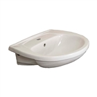 Instinct Trade 550mm Semi Recessed Basin (1 Taphole) INSTSRBA1