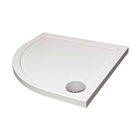 Instinct Low Profile 45mm Shower Tray 1000mm Quadrant White H100Q100