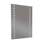 Instinct Target LED Mirror with Heated Demister & Shaver Socket 600mm x 800mm