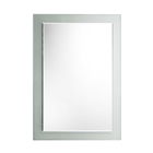 Instinct Style Plain Mirror with Frosted Border 495mm x 710mm