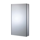 Slimline Single Door Aluminium Cabinet 450mm x 700mm x 100mm