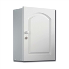 Lockable MDF Cabinet White 337mm x 420mm x 155mm
