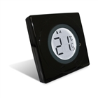 Salus S-Series Digital Thermostat Piano Black ST320PB