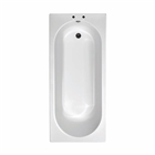Cascade Single Ended Bath 1600mm x 700mm (2 Taphole) 5mm Thick