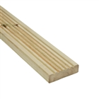 38mm x 125mm (33mm x 120mm Finished Size) Timber Decking Treated