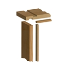 Softwood Internal Door Lining Set 32mm x 140mm (Loose Stops)