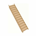 Softwood Staircase WM 2600mm Rise