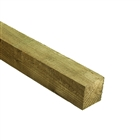 Fence Post Green Treated 75mm x 75mm x 2.4m FSC