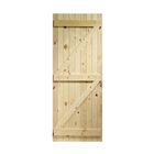 Ledged And Braced Door 2'6 x 6'6 FSC