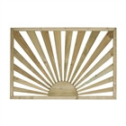 Cheshire Sunburst Decking Panel 41mm x 770mm x 1130mm