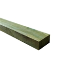 New Green Treated Timber Railway Sleeper 200mm x 100mm x 2400mm