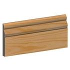 19mm x 150mm Softwood Skirting Ogee (16mm x 145mm Finished Size) PEFC