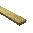 47mm x 100mm Rough Sawn Carcassing Green Treated