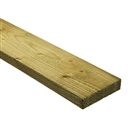 47mm x 150mm Rough Sawn Carcassing Green Treated