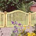 "Hampton Fence Panel 5'11"" x 3'3"" (180cm x 100cm)"