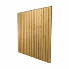 Featheredge Panel 6' x 5' (183cm x 152cm) FSC